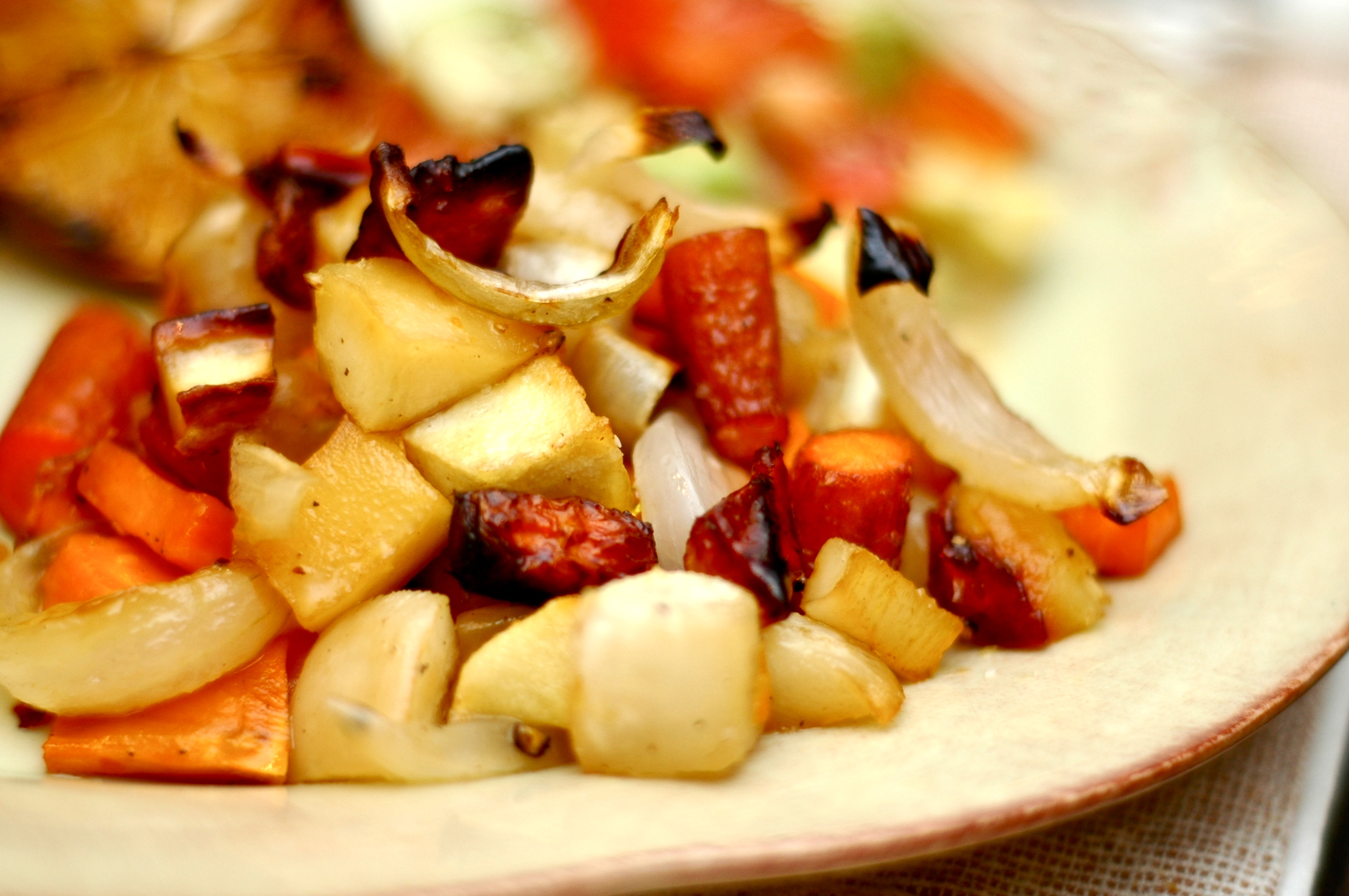 Honey Roasted Winter Root Vegetables | Vulcan's Table